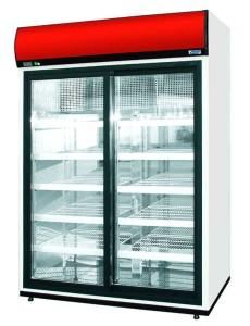 TLI chladící skříně prosklené